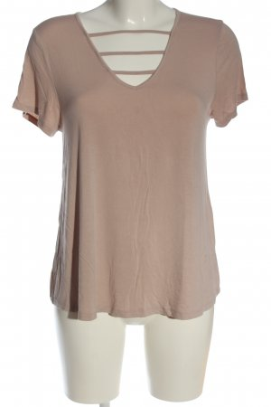 Mossimo Supply Co. V-Neck Shirt nude casual look