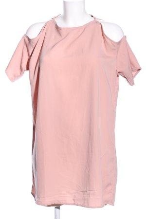 Motel Oversized shirt roze casual uitstraling