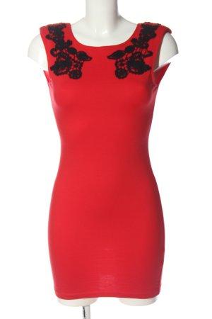 Motel Rocks Mini Dress red-black elegant