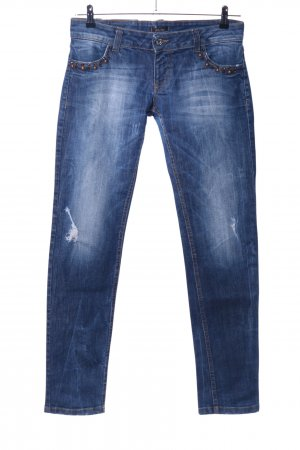 Motel Slim Jeans blau Casual-Look
