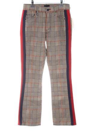 Mother Pantalone cinque tasche motivo a quadri stile professionale