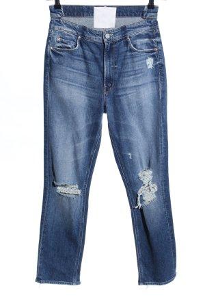 Mother High Waist Jeans blau Casual-Look
