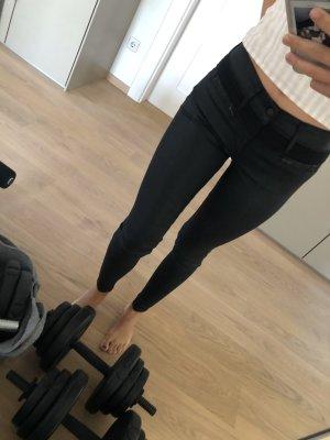 Mother Jeans in schwarz