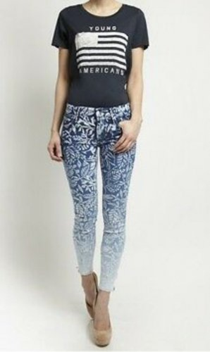 Mother Jeans skinny multicolore