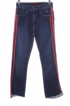 Mother Skinny Jeans blau Casual-Look