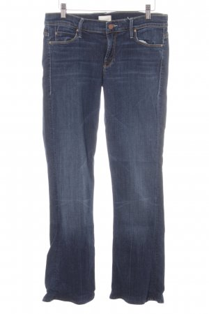Mother Jeans skinny blu scuro stile casual