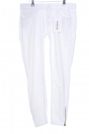 Mother Jeans skinny bianco stile casual