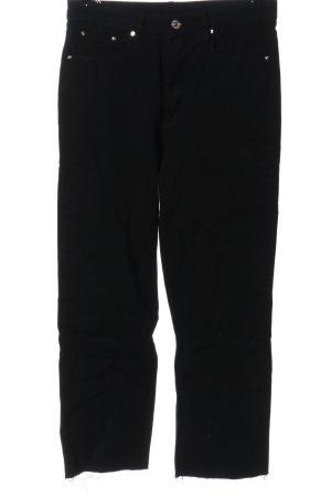 Mother Jeans a gamba dritta nero stile casual