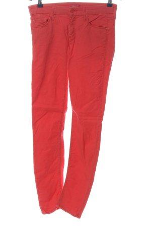 Mother Pantalone elasticizzato rosso stile casual