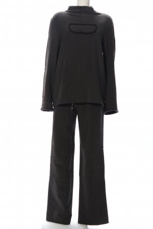 Mothwurf Dzianinowy podwójny zestaw  czarny W stylu casual