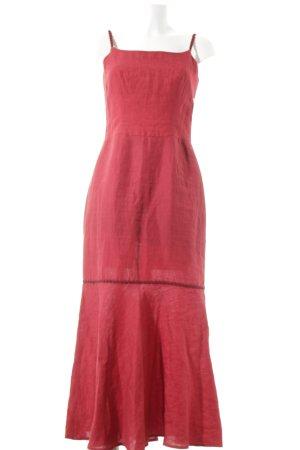 Mothwurf Trägerkleid rot klassischer Stil