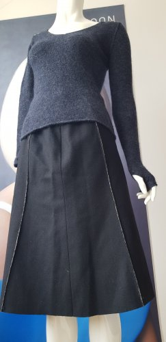Mothwurf Wool Skirt anthracite