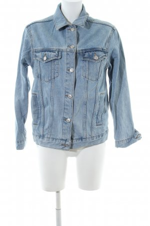Moto Jeansjacke blau Casual-Look