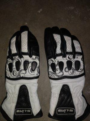 Padded Gloves white-black