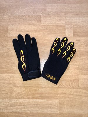 Guantes térmicos negro-amarillo