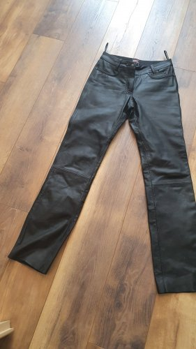 Leather Trousers black