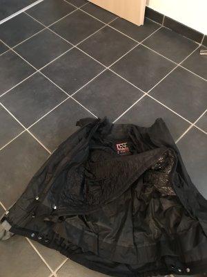 Veste motard noir-argenté