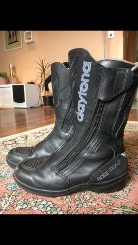 Motorrad Stiefel Daytona Touring Star Echt Leder