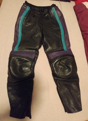 Polo Pantalón de cuero negro
