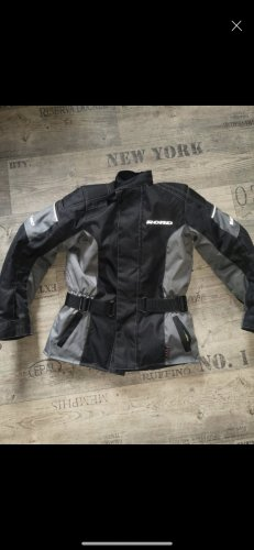 Veste motard multicolore