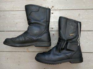 Biker Boots black leather