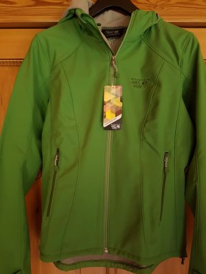 Mountain Hardwear Softshell Jacket green polyester