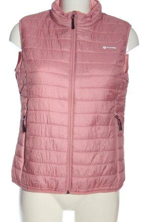 Mountain Pro Gilet matelassé rose motif de courtepointe style décontracté