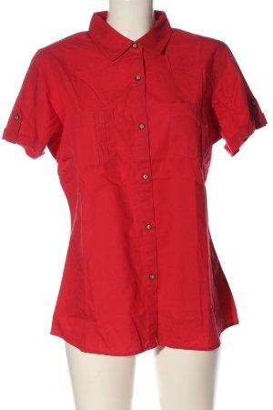 Mountain Warehouse Camisa de manga corta rojo estilo «business»