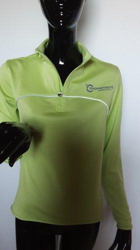 movement T-shirt de sport jaune citron vert