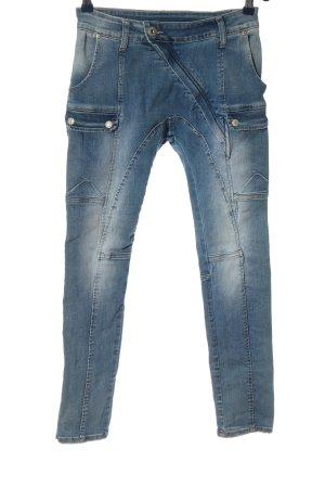 Mozzaar High Waist Jeans blau Casual-Look