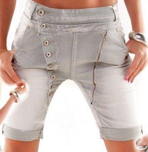 Mozzaar Italy Baggy/Shorts - LightBlue - Größe XS 32/34 - Washed!