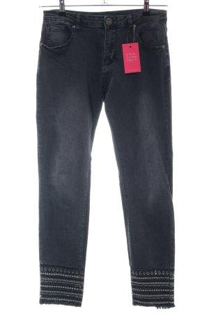 Mozzaar Skinny Jeans blau Casual-Look