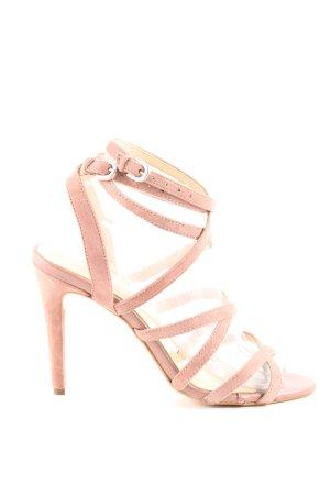 MPS Riemchen-Sandaletten pink Elegant