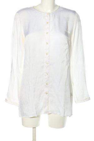 Mr.Mrs. Shirt Langarm-Bluse weiß Business-Look
