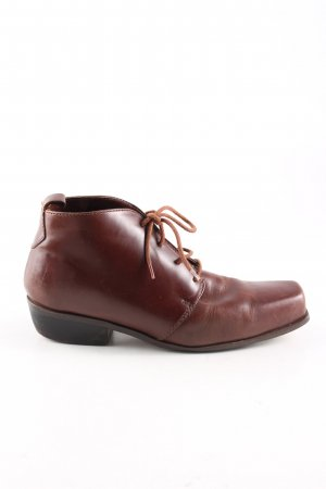 Ankle Boots braun Business-Look