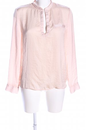 Mrs. Foxworthy Langarm-Bluse creme Casual-Look