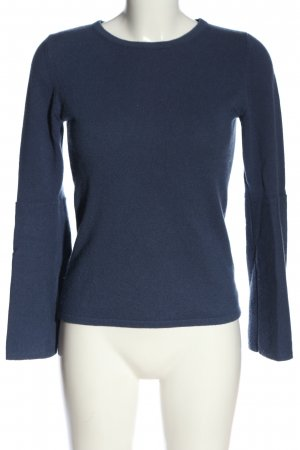 Mrs & HUGS Cashmere Jumper blue casual look