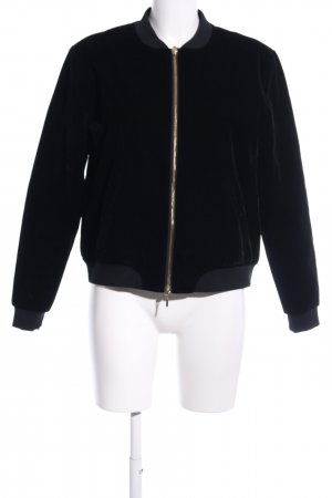 Mrs & HUGS Collegejacke schwarz Casual-Look