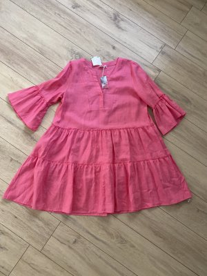 Mrs & HUGS Midi Dress pink-neon pink
