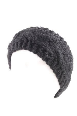 Mrs & HUGS Haarband schwarz schlichter Stil