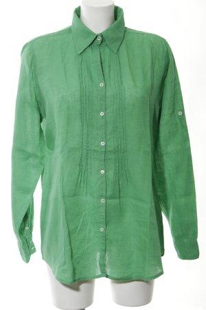Mrs & HUGS Hemd-Bluse grün Casual-Look