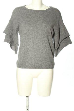 Mrs & HUGS Jersey de manga corta gris claro moteado look casual