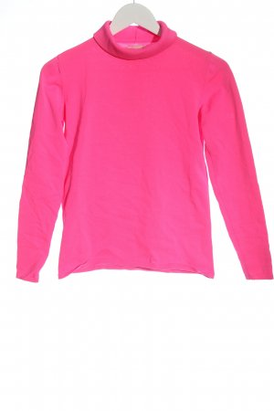 Mrs & HUGS Rollkragenpullover pink Casual-Look