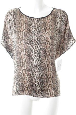 Mrs & HUGS T-Shirt Animalmuster Elegant