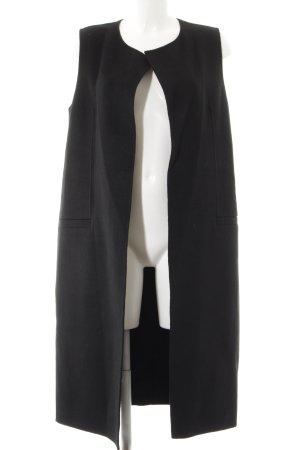 Mrs & HUGS Übergangsmantel schwarz Elegant