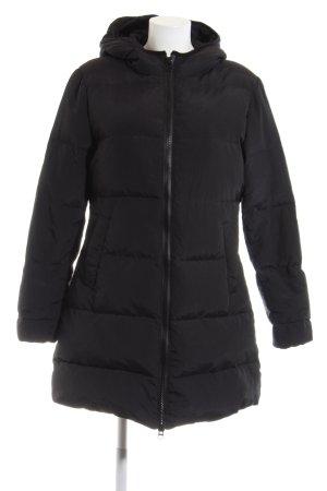 Mrs & HUGS Winterjacke schwarz Casual-Look