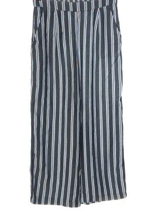 MSCH Copenhagen Luźne spodnie niebieski-biały Melanżowy W stylu casual