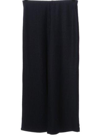 MSCH Copenhagen Culottes black striped pattern casual look