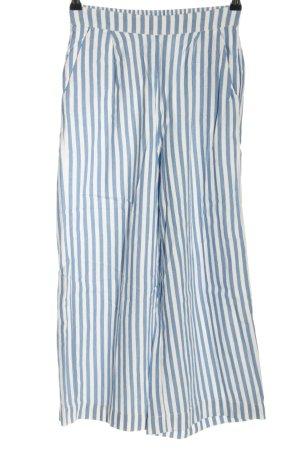 MSCH Copenhagen Culotte bleu-blanc motif rayé style décontracté