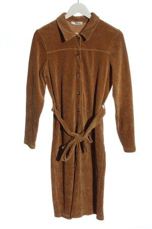 MSCH Copenhagen Robe chemise brun style décontracté